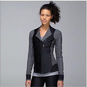 Lululemon Emerge Renewed Jacket Black Heathered